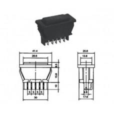 Авто сирена ASW-02 PRK0014 выключатель клавишн
