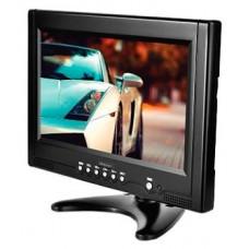 """Авто телевизор ROLSEN RCL-900 портативный Диагональ 9"""" 23см. Разрешение 800x600. Формат 16:9. Яркость 250 кд/м2. Контрастность 400:1. Углы обзора 135/135. Встроенный ТВ-тюнер +. Cистема ТВ PAL/SECAM/NTSC."""