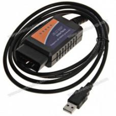 Диагностический сканер ELM327 OBD2 USB