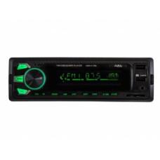Головное устройство AurA AMH-410MQ USB/SD ресивер. 2 RCA. 4х51W. Вход AUX 3,5 мм джек.Изменяемая подсветка 7 цветов. Жк  VA дисплей. ISO разъем