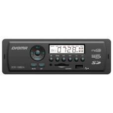 Головное устройство DIGMA DCR-100B24 1 din. Мощность 4x45Вт. Подсветка синяя. Эквалайзер. USB-порт.  Аудиовход на передней панели.