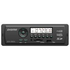 Головное устройство DIGMA DCR-100G24 1 din. Мощность 4x45Вт. Подсветка зеленая. Эквалайзер. USB-порт. Аудиовход на передней панели.