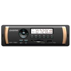 Головное устройство DIGMA DCR-110B24 1 din. Мощность 4x45Вт. Подсветка синяя. Эквалайзер.USB-порт. Аудиовход на передней панели.