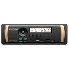 Головное устройство DIGMA DCR-110G24 1 din. Мощность 4x45Вт. Подсветка зеленая. Эквалайзер. USB-порт. Аудиовход на передней панели.