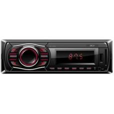MP3 ресивер AVS-1502R 1din/красный/425Вт/USB/SD/FM/несъемная ACV