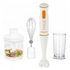 Блендер POLARIS PHB 0528 бело-оранж 500Вт.,2 ск.,измельчитель, венчик, мерный стакан| 12мес