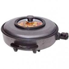 Электросковорода FIRST FA-5109 1500 Вт. Автоматический регулятор температуры. Термостат.  5 температурных настроек. Крышка.