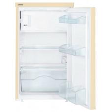Холодильник LIEBHERR Tbe 1404 ШxГxВ 50.1x62x85 см, бежевый, капельный, объем 122 л, мороз. камера сверху