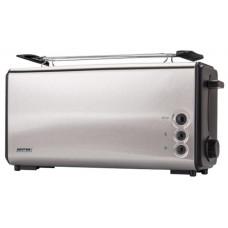 Тостер MPM MTO-04M черный/серебристый