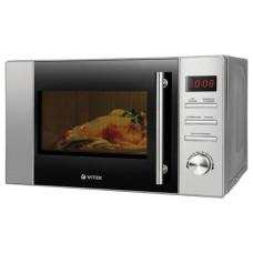 Микроволновая печь VITEK VT-1652 17л, гриль, 5 уровней мощности, дисплей, электронное управление, режим разморозки