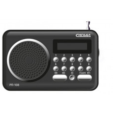 Радиоприёмник CИГНАЛ РП-108, USB, микроSD