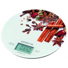 Весы кухонные POLARIS PKS-0834DG Spices 8кг. погр-1г, функция обнуления тары, автовыкл|  12 МЕC