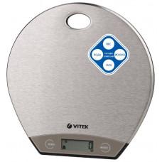 Весы кухонные VITEK VT-8021 5кг,точность 1г.,часы,V жидкости,последовательное взвешивание, тарокомпенсация