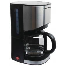 Кофеварка POLARIS PCM 1215А 900Вт.,1-12чашек, противокапельная система, съемный моющийся фильтр 12 мес