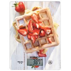 Весы кухонные SCARLETT SC-KS57P16 5кг,погрешность 1г,сброс веса тары.измерение объема жидкости