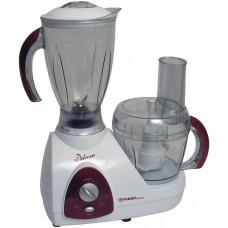 Кухонный комбайн FIRST FA-5118-4 500Вт. 2 уровня мощности + импульс . Лезвия из нерж. стали. 5 функций. Емкость: 1.2 л для измельчителя; 1.5 л для блендера.