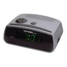 Часы FIRST FA-2410-BA будильник от сети, зелёный цвет сегментов чисел