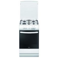 Плита HANSA FCGW 51040 газовая. Газовая духовка, ящик для посуды, ВхШхГ 85х50х60 см | 12 Месяцев
