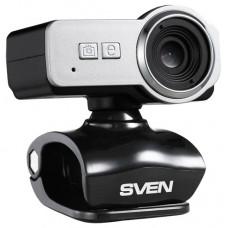 Веб камера SVEN IC-650 BLACK-SILVER 0.3 Mpx, интерполяция до 2Mpx