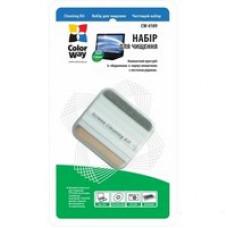 Чистящий многофункциональный набор ColorWay, в комплекте: многофункциональная щетка, жидкость для чистки 5 мл CW-4109