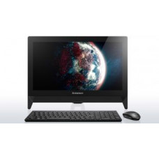 "Моноблок LENOVO IDEACENTRE C20-00 BLACK тачскрин/ 19,5"" FHD 1920x1080/ N3050 1.6-2.16 ГГц, 2М INTEL® Celeron® Dual-core/ Интегрированная/ 2GB DDR3 1600 SODIMM/ HDD 500GB 7200 rpm 3.5"" SATA 3/ без привода/ / веб-камера 720p/ Черная проводная USB/"