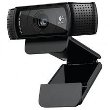 Веб камера LOGITECH  Full HD 1080p  Pro Webcam C920, USB 2.0, 19201080, 15Mpix foto, автофокус, Carll Zeiss, Mic, BLACK C920