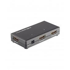 Разветвитель NO NAME SPLITTER 2 HDMI IN 2 HDMI OUT Cплиттер переключатель HDMI 2 in - 2 out