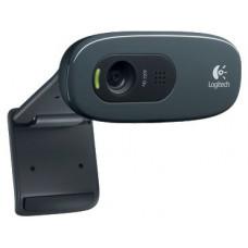 Веб камера LOGITECH C270 960-001063 BLACK HD Webcam USB 2.0, 1280720, 3Mpix foto, Mic