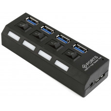 USB-разветвитель GEMBIRD UHB-U3P4-02  BLACK USB 3.0 internal hub, 4 ports