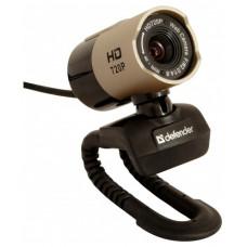 Веб камера DEFENDER G-LENS 2577 HD720p 2МП, стеклянная линза 5слоев