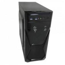 Корпус AKYGA  AK13BK  400W USB3 mid tower ATX - 33.5int, 15.25ext, 32.5int, 2USB3, 1USB2 AK13BK/B1-400