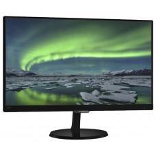 """Монитор 23"""" PHILIPS 237E7QDSB, матрица AH-IPS, разрешение 1920x1080, яркость 250 кд/м2, динамическая контрастность 20000000:1 , время отклика 5 мс, углы обзора 178°/178°, поддержка MHL, подключение DVI-D HDCP, HDMI, VGA D-Sub , аудио стерео 237E7QDSB"""