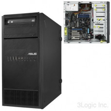 Cерверная платформа ASUS TS100-E9-PI4 TOWER SERVER. Процессоры  1x LGA1151 INTEL XEON E3-12xx v5. ОПЕРАТИВНАЯ ПАМЯТЬ: двухканальная, 4 слота, поддержка до 64GB UDIMM ECC/nonECC DDR4 2133 модули 4/8/16GB. ХРАНЕНИЕ ИНФОРМАЦИИ: на плате - 6 x SATA-III.