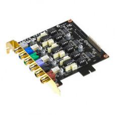 Звуковая карта ASUS PCI Sound Card XONAR H6. Плата расширения для звуковых карт ASUS Xonar HDAV 1.3 или ASUS Xonar Essence ST, увеличивающий количество аналоговых выходов до восьми.