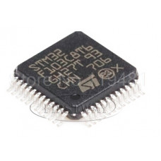 Плата STM32F103C8T6,  MCU 32-bit STM32 ARM Cortex M3 RISC 64KB Flash 2.5V/3.3V 48-Pin
