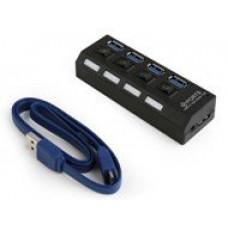 USB-разветвитель USB GEMBIRD 4порта UHB-CT02