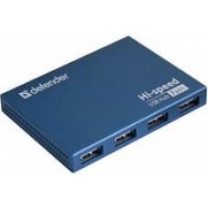 USB разветвитель DEFENDER Septima Slim 7-port USB 2.0 активный 83505