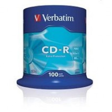 Диск VERBATIM CD-R 700MB 52X EXTRA PROTECTION SLIM