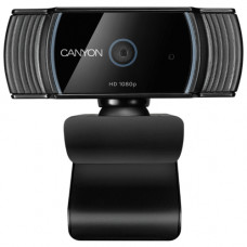 Веб камера CANYON CNS-CWC5 1080P full HD 2.0Mega auto focus webcam with USB2.0 connector, 360 degree