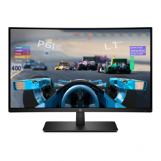Монитор HP 27x Curved Display, AC power cord, HDMI cable, 27 Inch1920 x 1080, WK_21,  1AT01AAR#ABV