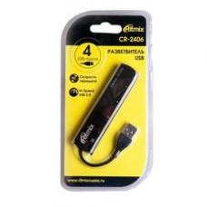 USB-разветвитель RITMIX CR-2406 black CR-2406