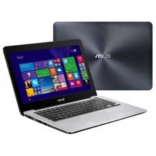 """Ноутбук 13.3"""" ASUS X302UA-FN054, i3-6100U, 13.3 inch HD 1366X768 16:9 Anti-Glare, 8GB, 128GB SSD, -, INTEL® HD graphics 520, WIFI, Webcam, W06_P_MTH, W39, Free DOS,  - 90NB0AR1-M01210"""