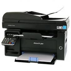 МФУ лазерное монохромное PANTUM M6607NW принтер/сканер/копир/факс, скорость печати 22 стр/мин, разрешение 1200x1200 dpi, подача: 150 листов, вывод: 100 листов, автоподатчик оригиналов односторонний на 30 листов, подключение Ethernet RJ-45, Wi-Fi, 802
