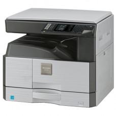 МФУ лазерное монохромное A3 SHARP AR-6020 копир/принтер/сканер; скорость 20 стр/мин, E-Sort; сканер цветной; запас бумаги 250 листов, бок. лоток 100 листов; подключение USB; поставляется со стартовым комплектом расходных материалов тонер на 4000 стра
