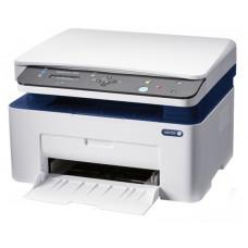 МФУ лазерное монохромное XEROX WorkCentre 3025BI, принтер/сканер/копир, A4, печать лазерная черно-белая, скорость печати 20 стр/мин ч/б, 1200x1200 dpi, подача: 151 лист., вывод: 100 листов,  память: 128 Мб, подключение Wi-Fi, 802.11n, USB 2.0, расход