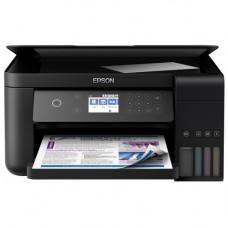 МФУ струйное цветное EPSON L6170 /стр.цветной/A4/4-цв/CНПЧ/USB+WiFi L6170