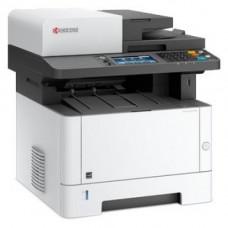 МФУ лазерное монохромное KYOCERA ECOSYS M2735dn, принтер/сканер/копир/факс, A4, печать лазерная черно-белая, двусторонняя, 35 стр/мин ч/б, автоподатчик односторонний на 50 листов, 1200x1200 dpi, подача: 350 листов, вывод: 150 листов, Post Script, пам