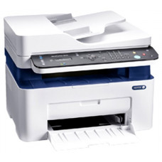 МФУ лазерное монохромное XEROX WorkCentre 3025NI, принтер/сканер/копир/факс, A4, печать лазерная черно-белая, скорость печати 20 стр/мин ч/б, 1200x1200 dpi, автоподатчик односторонний на 40 листов, подача: 151 лист., вывод: 100 листов,  память: 128 М