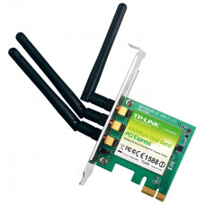Cетевая карта WiFi - PCI-Express 1 TP-LINK TL-WDN4800 450Mbps Wireless N Dual Band PCI Express Adapter, Atheros, 3T3R, 2.4GHz/5GHz, compatible with 802.11a/b/g/n, PCI Express connector