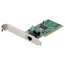 Cетевая карта LAN - PCI D-LINK DGE-528T Gigabit Ethernet, порт RJ45 10/100/1000Mbps, PCI